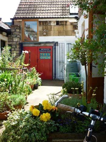Studio courtyard