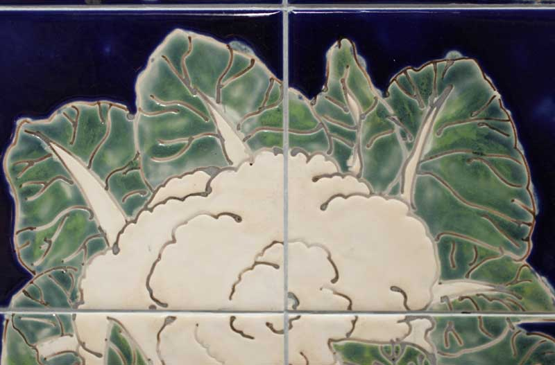 cauliflower tile panel