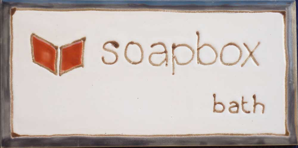 Company title + logo tile