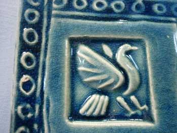 handmade tile detail