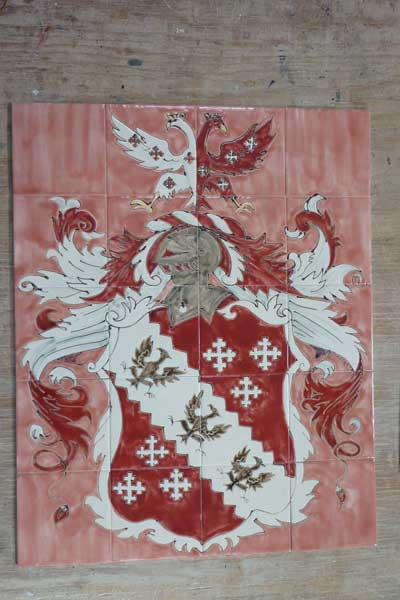 Southern-heraldic-tile-panel