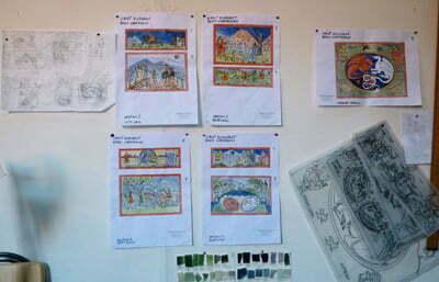 Merlin tile project drawings