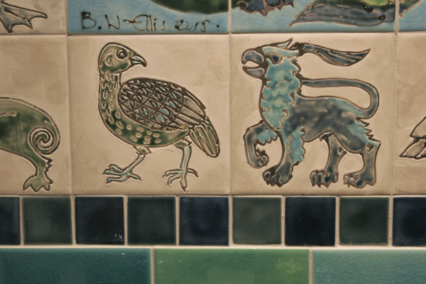 'William de Morgan ' style tiles2