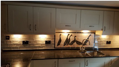 runner duck tile panel