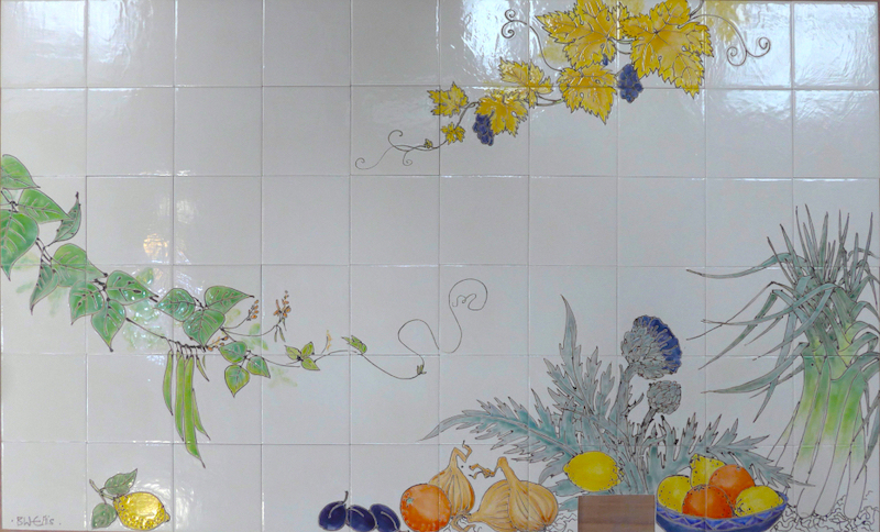 Fruit and vegetable tiles- Aga
